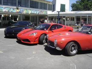 01a  - Three Ferrari's