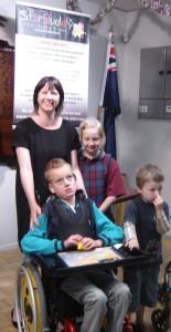 2 - Ryan -Mum Michelle & Family
