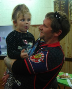 Maycee and her Dad.