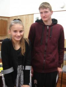 Rebecca and Jordan.